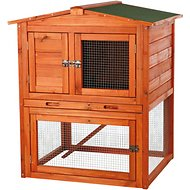 Trixie Rabbit Hutch with Peaked Roof