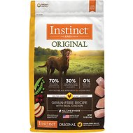 Instinct by Nature's Variety Original Grain-Free Recipe with Real Chicken Dry Dog Food, 11-lb bag