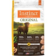 Instinct by Nature's Variety Original Grain-Free Chicken Meal Recipe Dry Dog Food, 22.5-lb bag