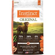 Instinct by Nature's Variety Original Grain-Free Recipe with Real Salmon Dry Dog Food, 20-lb bag