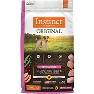 Instinct by Nature's Variety Original Small Breed Grain-Free Recipe with Real Chicken Dry Dog Food, 11-lb bag