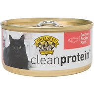 Dr. Elsey's cleanprotein Salmon Formula Grain-Free Canned Cat Food, 5.5-oz, case of 24