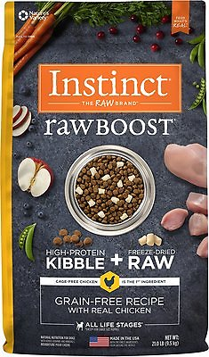 Instinct By Nature S Variety Raw Boost Grain Free Recipe With Real
