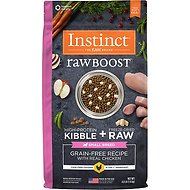 Instinct by Nature's Variety Raw Boost Small Breed Grain-Free Recipe with Real Chicken Dry Dog Food, 4-lb bag