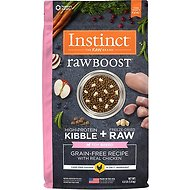 Instinct by Nature's Variety Raw Boost Toy Breed Grain-Free Recipe with Real Chicken Dry Dog Food, 4-lb bag