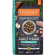 Instinct by Nature's Variety Raw Boost Puppy Grain-Free with Real Chicken Dry Dog Food, 4-lb bag