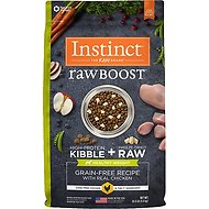 Instinct by Nature's Variety Raw Boost Healthy Weight Grain-Free Chicken Recipe Dry Dog Food, 20-lb bag