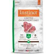 Instinct by Nature's Variety Limited Ingredient Diet Grain-Free Recipe with Real Lamb Dry Dog Food, 20-lb bag