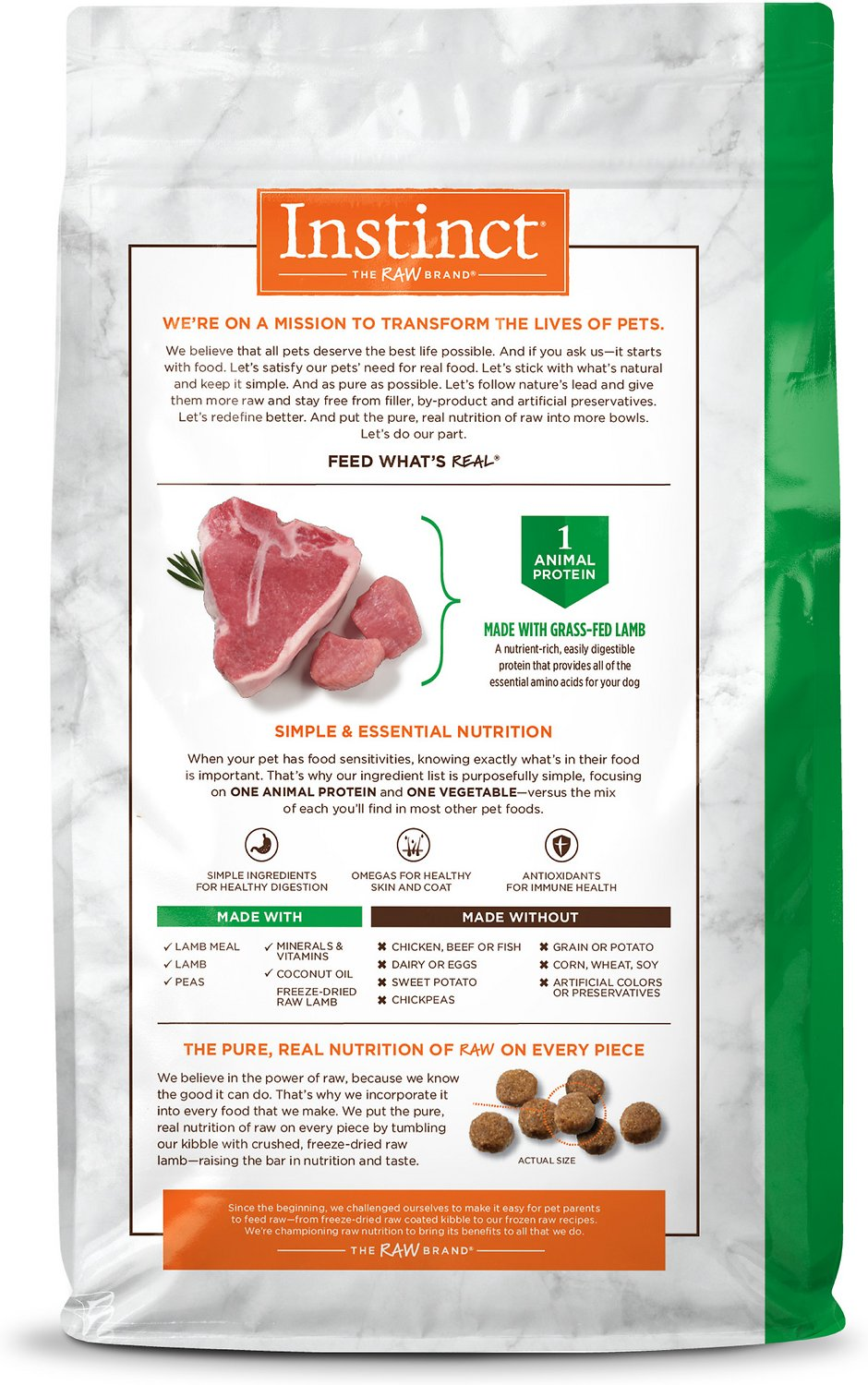 Calories In Nature S Recipe Canned Dog Food Lamb