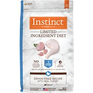 Instinct by Nature's Variety Limited Ingredient Diet Grain-Free Recipe with Real Turkey Dry Dog Food, 22-lb bag