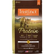 Instinct by Nature's Variety Ultimate Protein Grain-Free Cage-Free Chicken Recipe Dry Cat Food, 4-lb bag