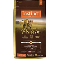 Instinct by Nature's Variety Ultimate Protein Grain-Free Cage-Free Chicken Recipe Dry Cat Food, 10-lb bag