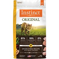 Instinct by Nature's Variety Original Grain-Free Recipe with Real Chicken Dry Cat Food, 5-lb bag