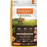 Instinct by Nature's Variety Original Grain-Free Recipe with Real Chicken Dry Cat Food, 11-lb bag