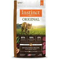 Instinct by Nature's Variety Original Grain-Free Recipe with Real Duck Dry Cat Food, 4.5-lb bag