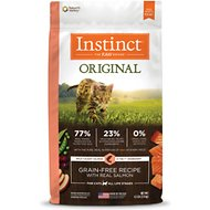 Instinct by Nature's Variety Original Grain-Free Recipe with Real Salmon Dry Cat Food, 4.5-lb bag
