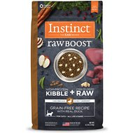 Instinct by Nature's Variety Raw Boost Grain-Free Duck & Turkey Meal Recipe Dry Cat Food, 4.5-lb bag
