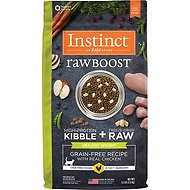 Instinct by Nature's Variety Raw Boost Healthy Weight Grain-Free Chicken Recipe Dry Cat Food, 4.5-lb bag