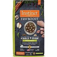 Instinct by Nature's Variety Raw Boost Healthy Weight Grain-Free Chicken Recipe Dry Cat Food, 10-lb bag