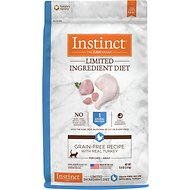 Instinct by Nature's Variety Limited Ingredient Diet Grain-Free Recipe with Real Turkey Dry Cat Food, 11-lb bag