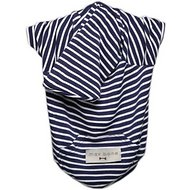 Max-Bone Navy Striped Premium Dog Hoodie, Small