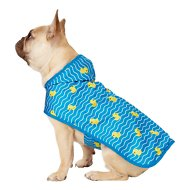 Frisco Ducky Dog Raincoat, Medium