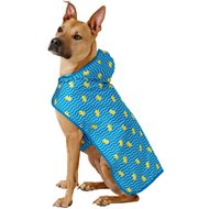 Frisco Rubber Ducky Dog Raincoat, X-Large