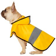 Frisco Rainy Days Dog Raincoat, Medium, Yellow