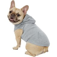 Frisco Basic Dog Hoodie, Medium, Gray