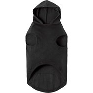 Frisco Basic Dog Hoodie, Large, Black