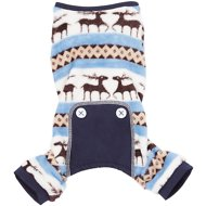 Frisco Cozy Fair Isle Dog PJs, Small, Blue