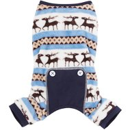 Frisco Cozy Fair Isle Dog PJs, Medium, Blue