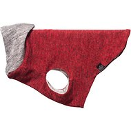 The Long Dog Clothing Company Crimson Reversible Dog Sweater, Petite