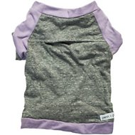 penn + pooch The Babe Dog T-Shirt, X-Small, Lavender