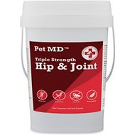 Pet MD Triple Strength Hip and Joint Hypoallergenic Dog Supplement, 240 count