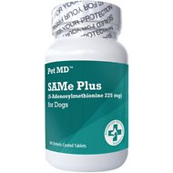Pet MD SAMe Plus Dog Supplement, 60 count