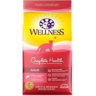 Wellness Complete Health Adult Health Salmon & Salmon Meal Recipe Dry Cat Food, 6-lb bag