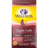 Wellness Complete Health Senior Health Deboned Chicken & Chicken Meal Recipe Dry Cat Food, 6-lb bag