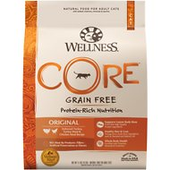 Wellness CORE Grain-Free Original Formula Dry Cat Food, 11-lb bag