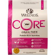 Wellness CORE Grain-Free Turkey, Turkey Meal & Duck Formula Dry Cat Food