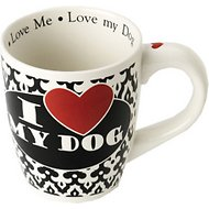 "PetRageous Designs ""I Love My Dog"" Jumbo Coffee Mug, 28-oz"