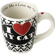 "PetRageous Designs ""I Love My Cat"" Jumbo Coffee Mug, 28-oz"