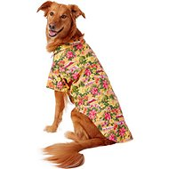 Doggie Design Hawaiian Sunset Hibiscus Camp Shirt, XX-Large