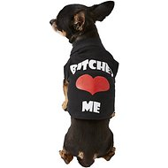 Mirage Pet Products Bitches Love Me Dog & Cat Shirt, Black, X-Small