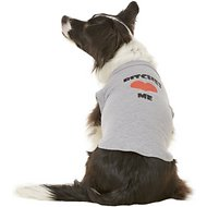 Mirage Pet Products Bitches Love Me Dog & Cat Shirt, Grey, X-Large
