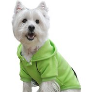 Doggie Design Sport Hoodie, Green Flash, X-Small