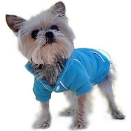 Doggie Design Sport Hoodie, Blue Curacao, X-Small