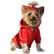 Doggie Design Sport Hoodie, Flame Scarlet Red, X-Small