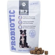 H3 Essentials Probiotic Soft Chew Dog Supplement, 60 count