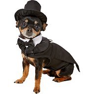 Doggie Design Dog Tuxedo with Matching Hat & Collar, X-Small